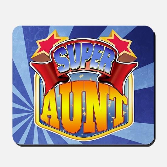 Super Aunt Mousepad