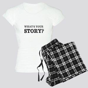 What's Your Story Women's Light Pajamas