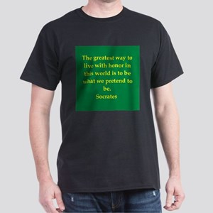 Wisdom of Socrates Dark T-Shirt
