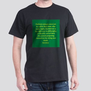 Wisdom of Socrates Dark T-Shirt
