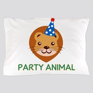 Party Animal Pillow Case