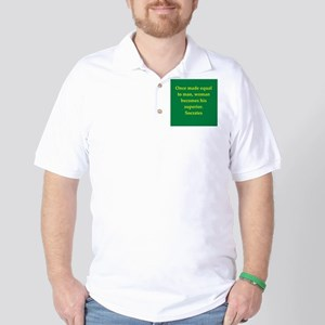 Wisdom of Socrates Golf Shirt