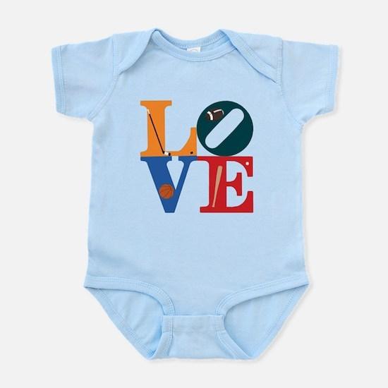 Love Philly Sports Infant Bodysuit