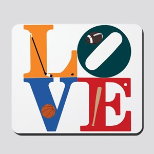 Love Philly Sports Mousepad