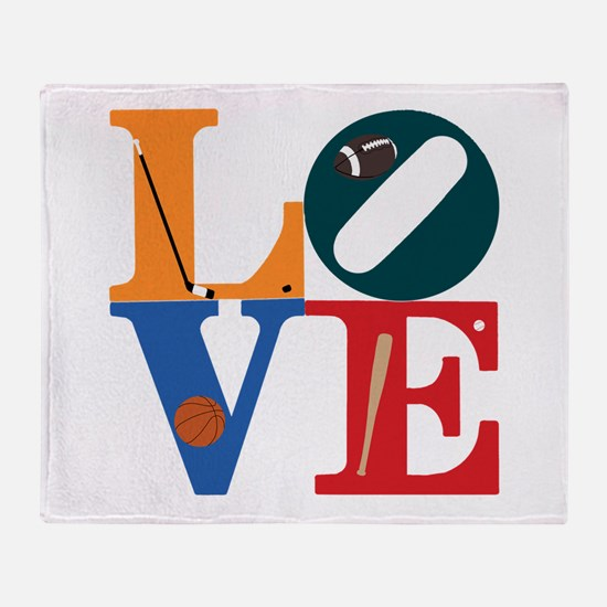 Love Philly Sports Throw Blanket