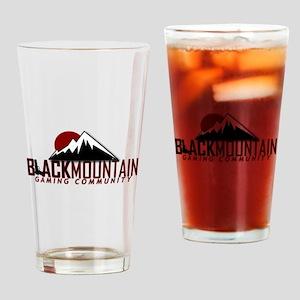 Black Mountain Logo Drinking Glass