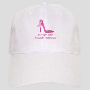 Pink Stiletto Stamp Out Breast Cancer Cap