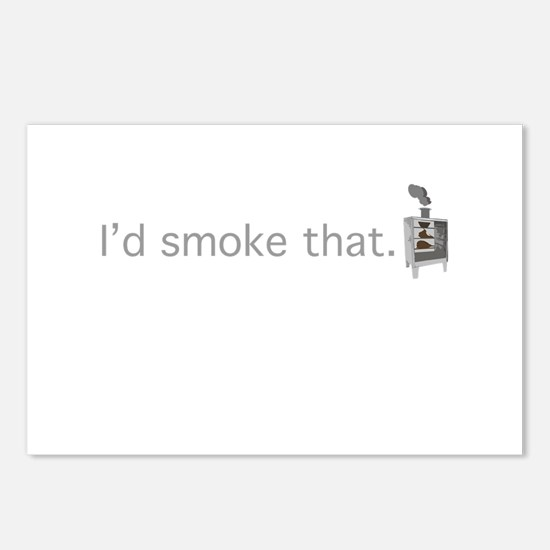 Cute Smoke Postcards (Package of 8)
