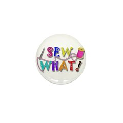 Sew What Mini Button (10 pack)