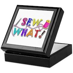 Sew What Keepsake Box