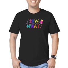 Sew What Men's Fitted T-Shirt (dark)