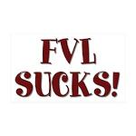 FVL Sucks! 38.5 x 24.5 Wall Peel