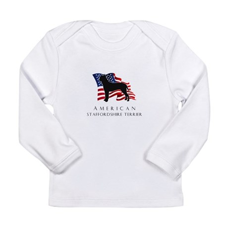 """American"" Staffordshire Long Sleeve Infant T-Shir"