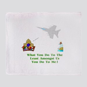 What You Do Gifts Throw Blanket