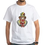 Impko White T-Shirt Classic Clown