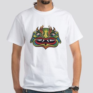 Impko White T-Shirt Laughing Demon