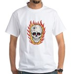 Impko Hot Head flaming skull