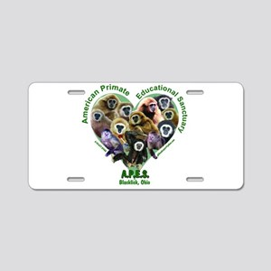 APES Aluminum License Plate
