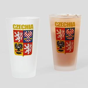 Czech COA Drinking Glass