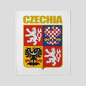 Czech COA Throw Blanket