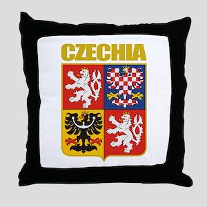 Czech COA Throw Pillow