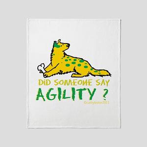 Did someone say Agility Throw Blanket