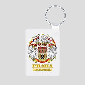 Praha (Prague) COA Aluminum Photo Keychain
