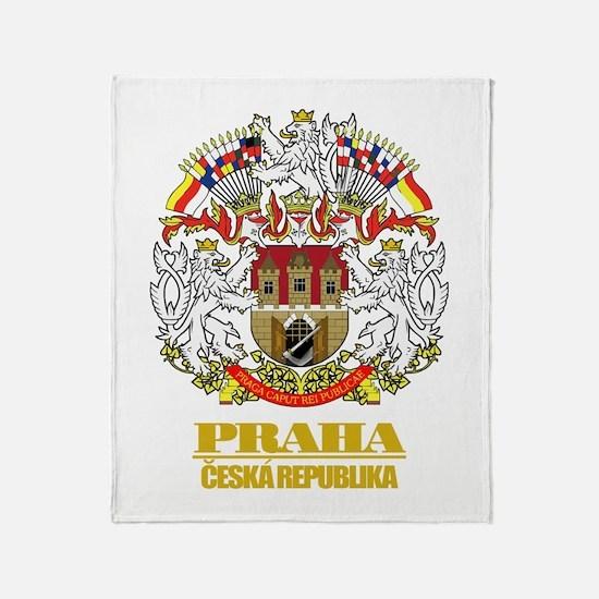 Praha (Prague) COA Throw Blanket