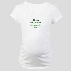 Tip Me Maternity T-Shirt
