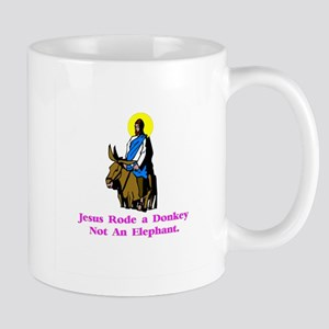 Jesus Rode A Donkey Gifts Mug