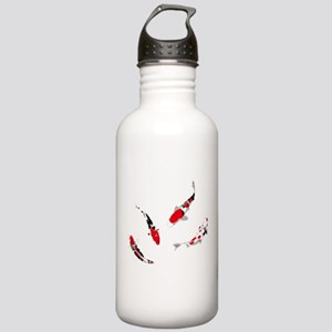 Varicolored carps Stainless Water Bottle 1.0L