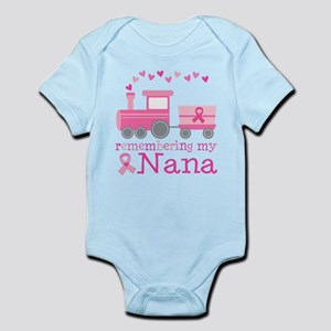 Pink Ribbon Remembering Nana Infant Bodysuit