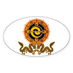 Gohu-ryuu 1 Sticker (Oval 50 pk)