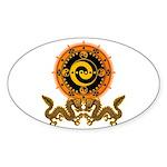 Gohu-ryuu 1 Sticker (Oval)