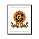 Gohu-ryuu 1 Framed Panel Print