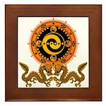Gohu-ryuu 1 Framed Tile
