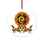 Gohu-ryuu 1 Ornament (Round)