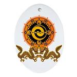 Gohu-ryuu 1 Ornament (Oval)