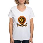 Gohu-ryuu 1 Women's V-Neck T-Shirt
