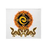 Gohu-ryuu 1 Throw Blanket