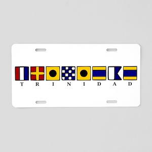 Trinidad Aluminum License Plate
