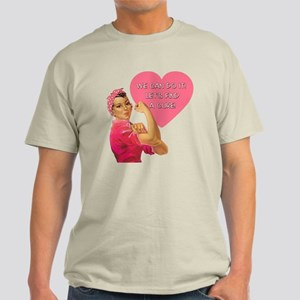 Rosie the Riveter Breast Cancer Light T-Shirt