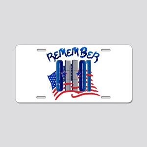 Remember 9/11 - Twin Towers Aluminum License Plate