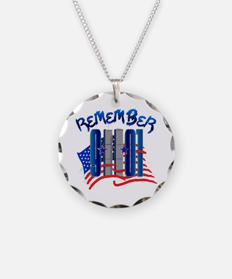 Remember 9/11 - Twin Towers Necklace