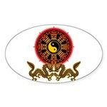 Gohu-ryuu 2 Sticker (Oval 10 pk)