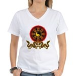Gohu-ryuu 2 Women's V-Neck T-Shirt