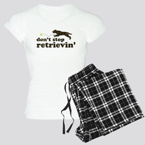 Don't Stop Retrievin' Women's Light Pajamas