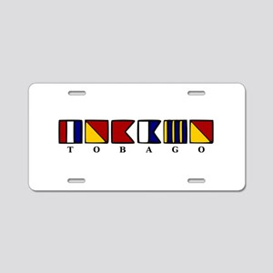 Tobago Aluminum License Plate