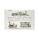 H K Porter & Company, 1890 Rectangle Magnet (100 p