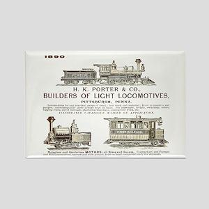 H K Porter & Company, 1890 Rectangle Magnet